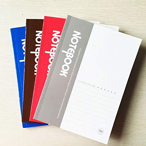 SWSM Notizbuch, Tagebuch, weicher Einband, 80 Seiten, Bürobedarf, 10 Stück,...