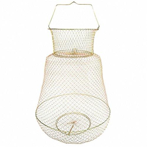 TOOGOO Pot de Peche Pliable Portable en Fil d'acier Piege Net Crabe Cage de Ecrevisse Panier de Poisson