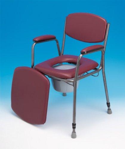 Kunststoffklemmen-Set zur Sitzbefestigung am höhenverstellbaren Toilettenstuhl