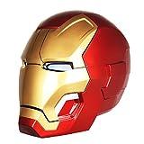 QWEASZER Iron Man electrónico Casco Máscara, Marvel Avengers 4 Superhéroe ABS...