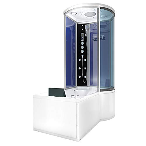 AcquaVapore DTP8055-A207L Whirlpool Wanne Duschtempel Dusche Duschkabine 170x98