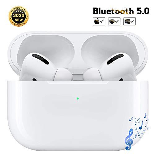 Caolin Bluetooth Kopfhörer in Ear, Kabellose Kopfhörer Bluetooth mit Mikrofon und Schnellladekoffer, IPX5 Wasserdicht Sport Kopfhörer mit Berührungssteuerung für iPhone/Android