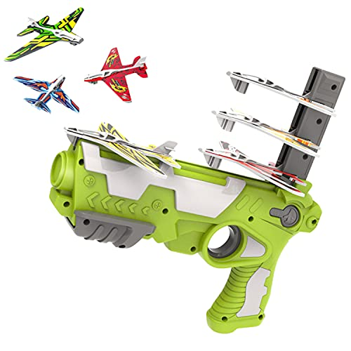 AUFUJO Bubble Catapult Plane for Kids, 2021 New Hot Toy Bubble Catapult Plane Toy...