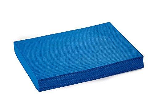 Sportbanditen Pad, Wackelkissen Trainingsgerät, Ballance Trainer, Ballancekissen, blau, 48 x 38 x 5,8 cm