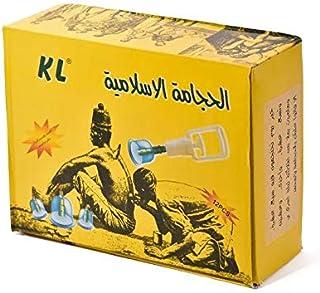 حجامة اسلامية، طقم اكواب الشفط العلاجية، جهاز لشفط الدم الفاسد 12 قطعة نوعية ممتازه وسهله الاستخدام