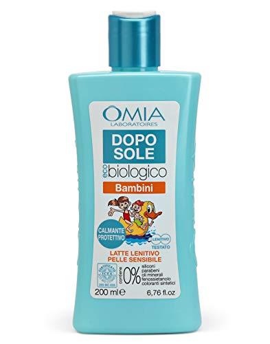 Omia Doposole Latte Lenitivo Ecobio Bambini - 200 ml
