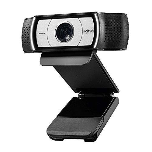 Sdrgvd Webcam C930e 1080P 30FPS Business HD with Protective Cover