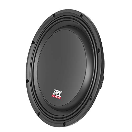 "MTX 10"" Shallow 300 Watts RMS 4 Ohm Subwoofer 3510-04S (35 Series) 3.375"" Mounting Depth"