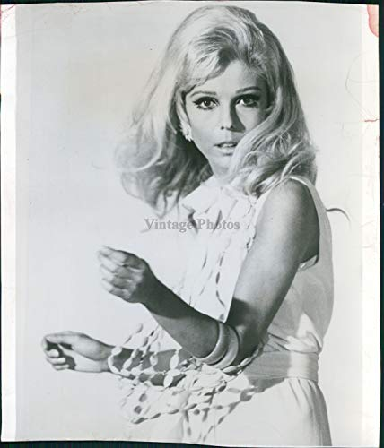 Vintage Photos 1968 Nancy Sinatra Actress Singer Celebrity These Boots Made Walkin Photo 8X8