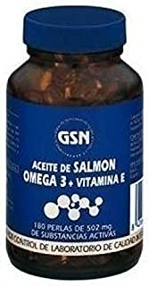 Aceite Salmón Omega 3 y Vitamina E 180 perlas