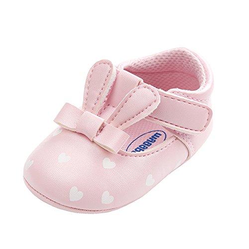 MK MATT KEELY Baby Mädchen PU Mary Jane Schuhe Kleinkind Sommer Sneaker Halbschuhe,6-12 Monate