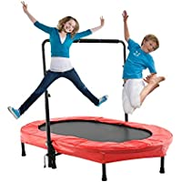 Ancheer Trampoline for 2 Kids with Adjustable Handle