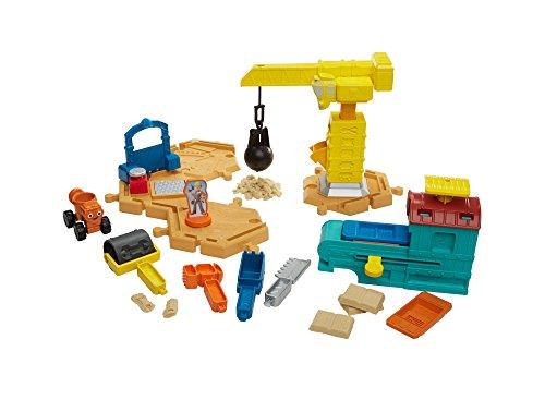 Mattel Fisher-Price dmm55–Bob el Constructor Grande Juego Interfaz construcción con Parte Arena
