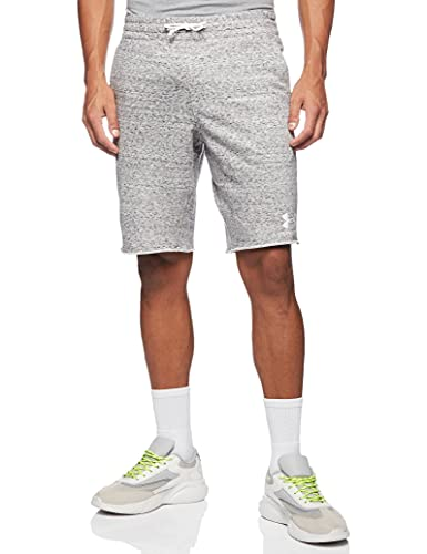Under Armour Men's Sportstyle TERRY Shorts , Onyx White (112)/Onyx White , Onyx White (112)/Onyx White