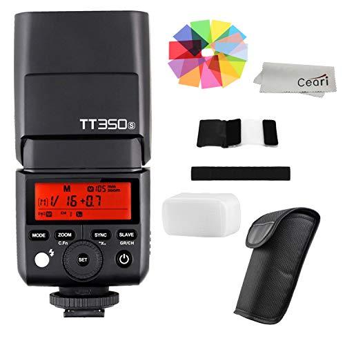 Godox TT350S 2.4G TTL Flash Speedlite with 1/8000s HSS for Sony A7 A7R A7S A7RII A7SII RX100 RX10 A6000 A6300 A5100 DSLR Cameras