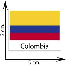 Colombia Flag Temporary Tattoos Sticker Body Tattoo