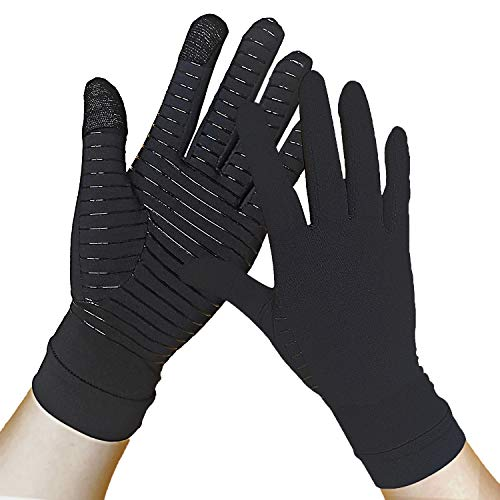 Up to 59% off Full Finger Copper Arthritis Gloves Add lightning deal price. Price as marked. No promo code needed.