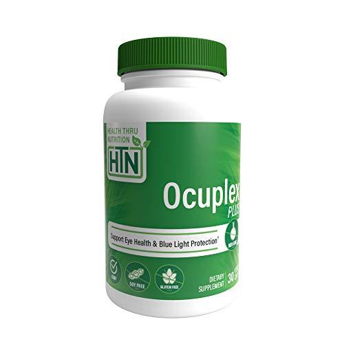 Ocuplex® Plus für gesündere Augen jetzt mit 10 mg Lutein und 2 mg Zeaxanthin (30 Vegekapseln) (60)