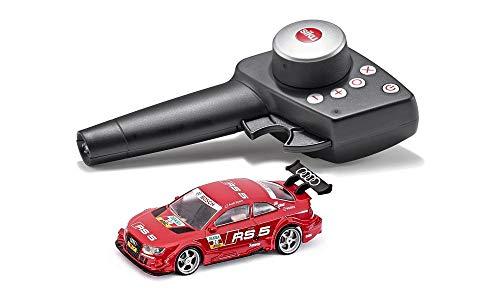 SIKU 6825, Audi RS5 DTM, Voiture Télécommandée, 1:43, Rouge, métal/Plastique, avec Module de télécommande et Batterie Inclus
