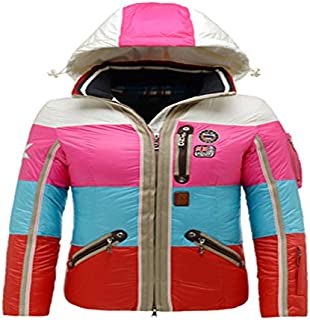 B0GNER Hooded Waterproof Outdoor Winter Sports Parka Windproof Women Neah-D Down Outdoor Skiing Jacket