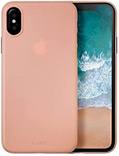 LAUT Slimskin iPhone X Case - Pink