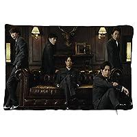 岚arashi枕カバーファッションかわいい豪華なパターンシンプルなソファクッション室内装飾装飾的な枕カバー枕カバーを抱き締めるクッションカバー20x30cm(8''×12'')