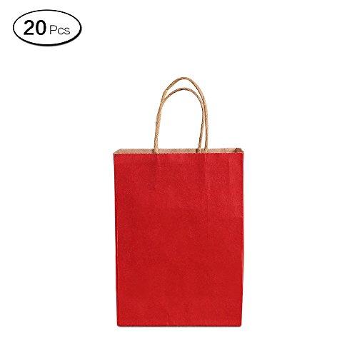 Luxe Parti Sacs-Papier Kraft Sac Cadeau-Medium A4 Twisted Poignées-Recyclable