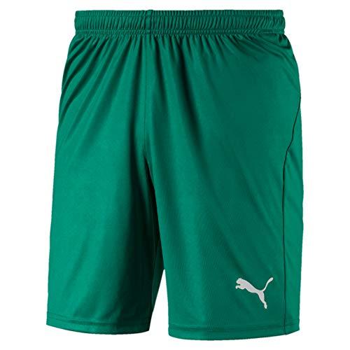 Puma Liga Core, Pantaloncini Uomo, Verde (Pepper Green White), S