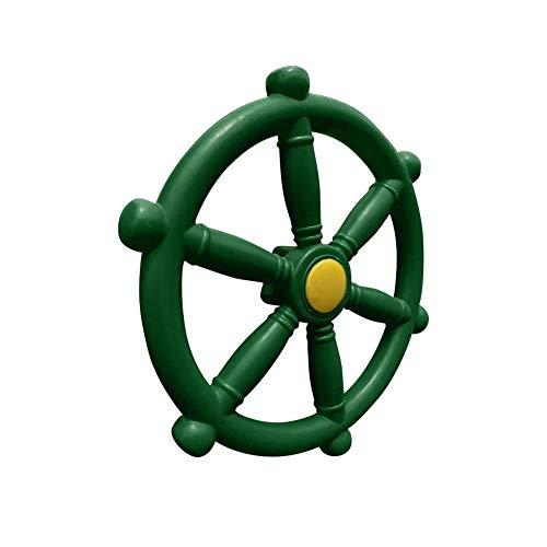 Foliner Piratenschiff Lenkrad Spielzeug Kunststoff Schiff Lenkrad Spielplatz Schiffe Rad für Klettergerüst Spielhaus Vergnügungspark Outdoor-Spaß