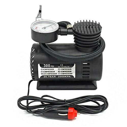 Sunydog Bomba de Aire eléctrica para automóvil Compresor de Aire 300PSI Inflador de neumáticos portátil para automóvil