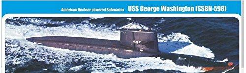 U.S. nuclear-powered submarine 'George Washington' (SSBN-598) MM350-017
