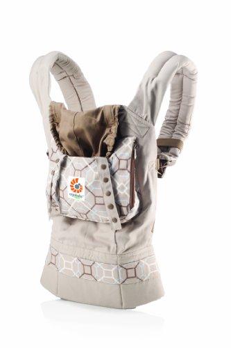 Ergobaby Babytrage Kollektion Organic (5,5 - 20 kg), Lattice