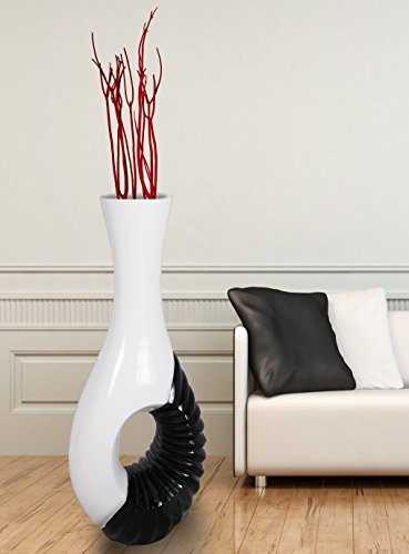 Modern Black And White Large Floor Vase Buy Online In South Africa At Desertcart