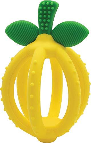 Itzy Ritzy Teething Ball & Training Toothbrush – Silicone, BPA-Free Bitzy...