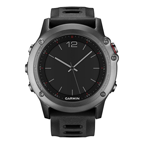 Garmin Fenix 3 GPS Fitness Watch Gray (Renewed) (010-N1338-00)