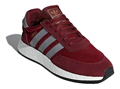 Adidas I-5923, Zapatillas de Deporte para Niños, Rojo (Buruni/Gritre/Ftwbla 000), 37 1/3 EU