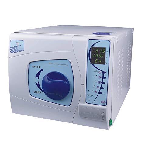 18L Medical Autoklave Sterilizer Klass B Vacuum Dampf mit Printer Dental Labor Desinfizieren