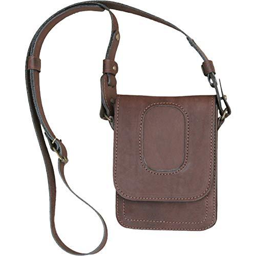 Fantastic Deal! Leather Shoulder Holster Pouch Bag Vintage Gun Holder