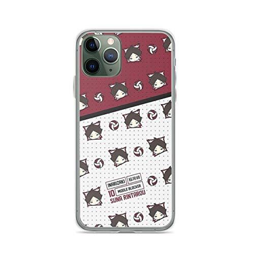Suna Rintarou - Pattern - Inarizaki - Haikyuu Compatible con iPhone 12/12Pro MAX 12 Mini 11 Pro MAX XR XS/XsMax SE 2020 7 8 6/6s Plus Huawei Samsung Series Funda Protectora