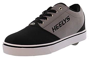 HEELYS Pro 20  Little Kid/Big Kid/Adult  Black/Grey 7 Men s 8 Women s M