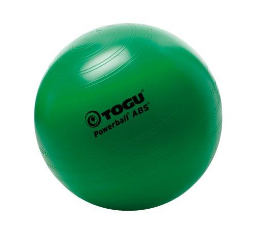 TOGU - Palla Ginnica Powerball ABS, Diametro 35 cm, Verde (Verde), 35
