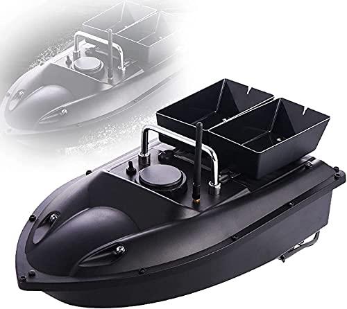 QQwl Barco de Cebo de Pesca RC portátil, Boat Boat Intelligent Fish Finder, Adultos Pesca Herramienta de embarcaciones, Regalo de Pesca de Pesca al Aire Libre Inteligente para Hombres