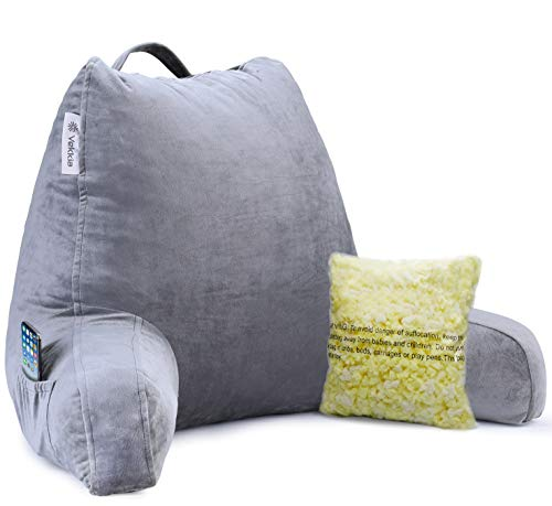 Vekkia Reading & Bed Rest Pillow with Support...