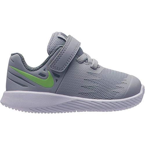 Nike Star Runner Sneaker Babyschuhe (TDV) aus grauem Segeltuch 907255-008