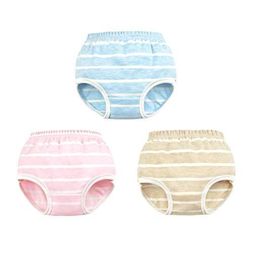 Tancurry Tancurry 4 Pcs Baby Jungen Gestreift Baumwolle Unterhose Soft Weich Unterwäsche Jungenhose