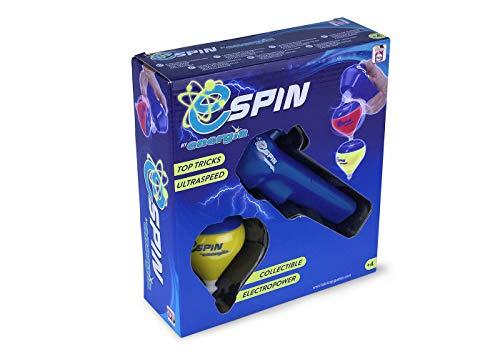 Energía - E-Spin Peonza con lanzador electropower, Color Su