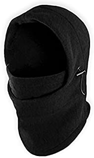 Balaclava Ski Mask - Extreme Cold Weather Face Mask - Heavyweight Fleece Hood Snow Gear for Men & Women - Ideal for Skiing, Snowboarding, Motorcycle Riding & Winter Sports