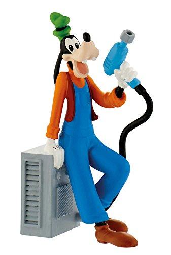 Bullyland 15462 - Disney Micky und die flinken Flitzer Spielfigur, Rennfahrer Goofy