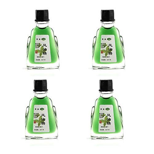 HEALLILY 4 Piezas Parche de Alivio de Aceite Esencial a Base de Hierbas Medicinales Parches para El Dolor para Picaduras de Mosquitos Que Viajan en Verano