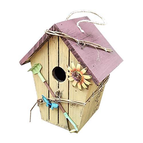 Sunneey vogelhuisje met zoete versieringen decoratief model